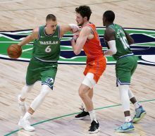 Porzingis helps Doncic-less Mavs to 87-78 win over Thunder