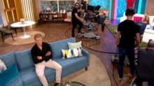 Love Island Hayley & Charlie sit apart on This Morning