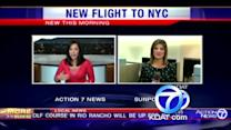 New airline offers nonstop service to NYC