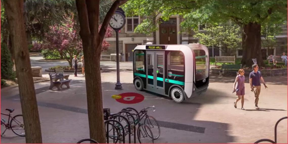 Would You Ride a Self-Driving, 3D-Printed Bus?