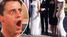 Wedding guest trolled for upstaging bride in sweeping white gown