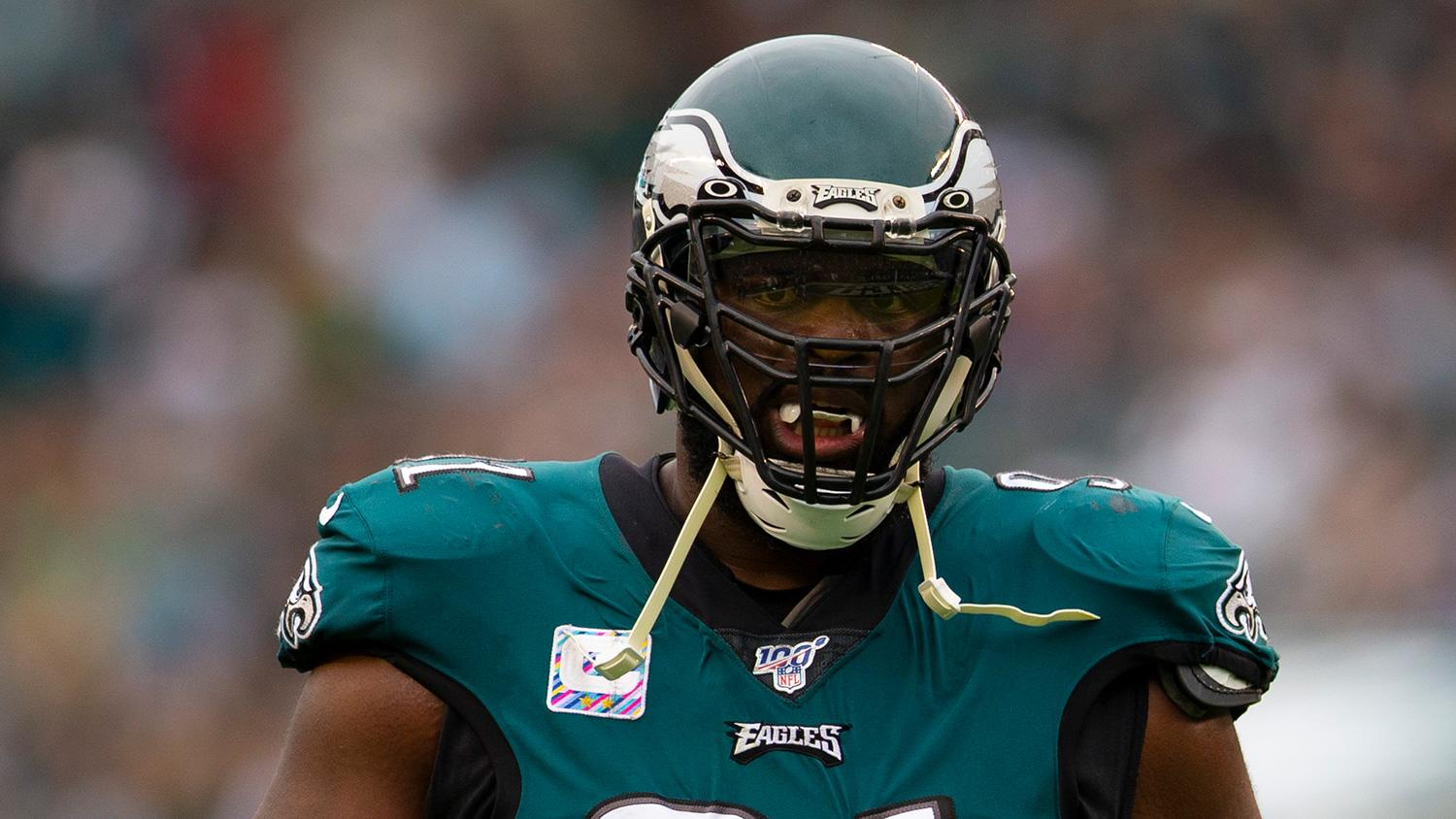 Eagles injury update: Fletcher Cox misses 2nd straight day of practice to begin Week 3