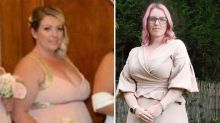 Bridesmaid drops 38kg after 'shocking' wedding photo