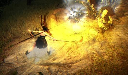See Black Desert's impish Tamer class in action
