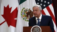 Mexican president marks 2nd anniversary amid virus, violence