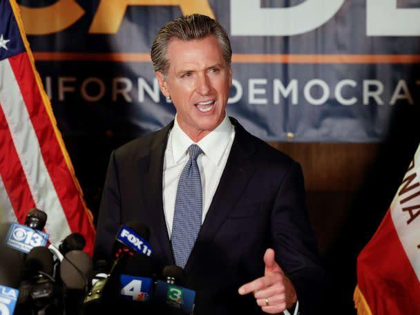 ANALYSIS: California Gov. Gavin Newsom romps based on twin fears of COVID-19 and Trump