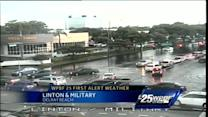 Mike Lyons 3:15 Update: Rain causing major flooding problems