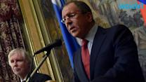 Russia's Lavrov Ays Fighting in East Ukraine Abating