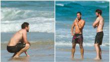 Liam Hemsworth looks glum in Byron Bay following split with Miley Cyrus