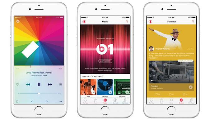 Apple Music is now available on iOS and the desktop