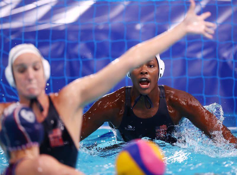 Women water oops polo 15 Female