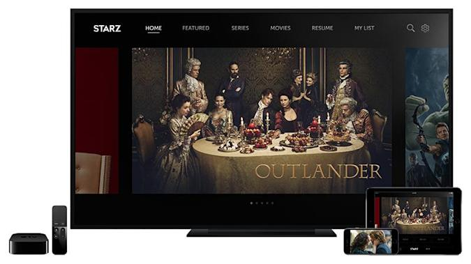 Starz launches its own streaming service with offline viewing