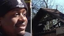 Son saves parents from burning home in NE Houston
