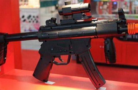 Heckler and Koch MP5 sub-machine gun Wiimote controller: 'nuff said