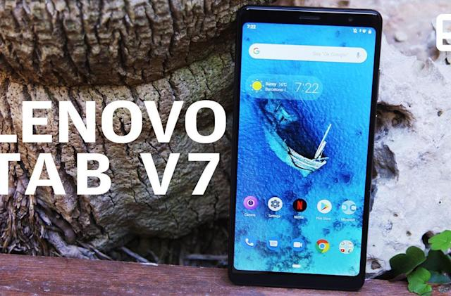 Lenovo Tab V7 hands-on: Big, loud and practical