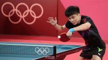 林昀儒桌球銅牌戰 第2局扳平1:1