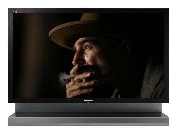 Panasonic's latest 103-inch 1080p plasma: step aside oil barons, this one's headed home