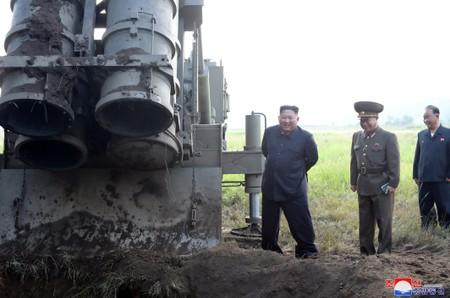 North Korea fires missiles after dialogue offer