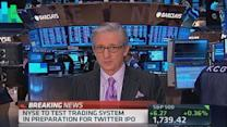 NYSE to test system before Twitter IPO