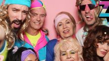 Zooey Deschanel Celebrates 40th Birthday with Boyfriend Jonathan Scott & His Family at '80s Party