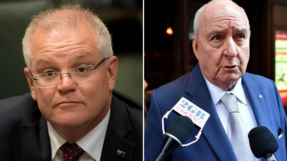 'The country's dying': Alan Jones attacks Scott Morrison over drought in fiery interview