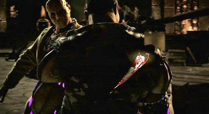 Watch Jason Voorhees hack up rivals in 'Mortal Kombat X'