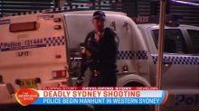 Manhunt underway in Western Sydney