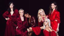 Lady Gaga and Nicole Kidman among A-listers on starry #MeToo magazine cover