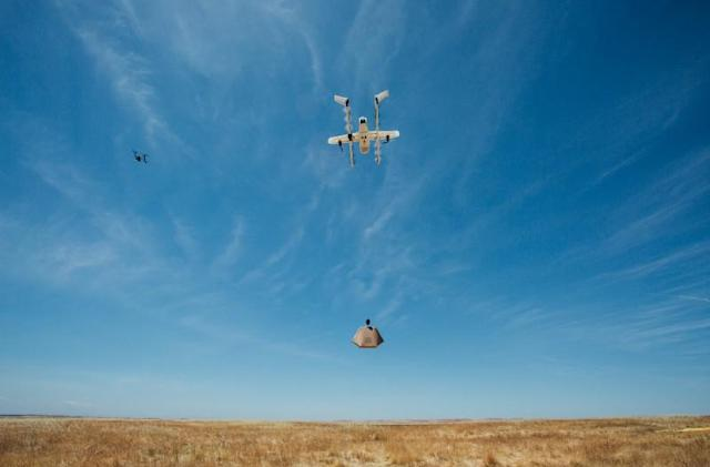 Google tests air traffic control system that manages lots of drones