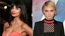 Cara Delevingne defends Karl Lagerfeld after Jameela Jamil labels him a 'fat-phobic misogynist'