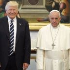 Pope Francis met President Trump and looked insanely psyched about it