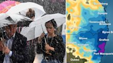 Flood warning as east coast smashed by rain – with much more to come