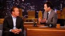 Arnold Talks Up 'Sabotage' With Jimmy