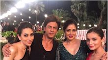 When Shah Rukh Khan shot with Kajol, Rani, Sridevi, Karisma, and Alia for his next