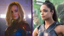 Brie Larson y Tessa Thompson apoyan una relación gay entre Capitana Marvel y la Valquiria de Thor