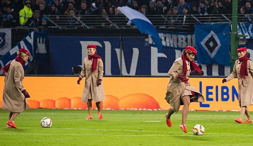 Bundesliga: Fluglinie Emirates stellt HSV-Jet vor