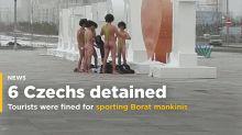 6 Czechs fined for sporting Borat mankinis in Kazakhstan