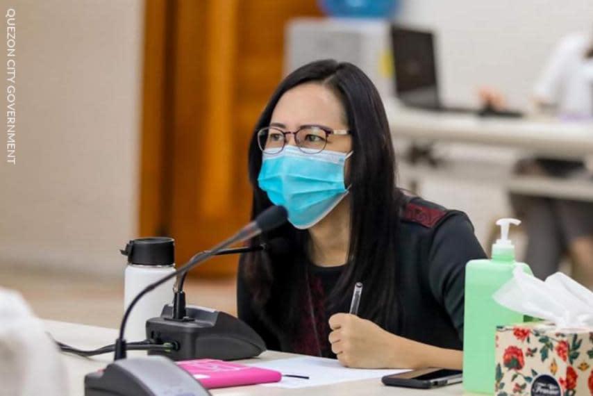 QC Mayor Belmonte confirms she has COVID-19