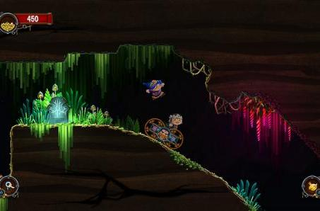 The bright, dark world of couch co-op puzzler Chariot on PS4