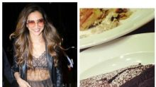 Cannes 2017: Deepika Padukone's diet takes a backseat as she indulges in a chocolate pastry