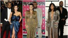 El misterioso motivo por el que Kanye West siempre posa detrás de Kim Kardashian