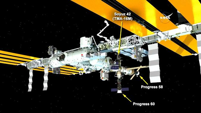 Vital Russian cargo ship reaches the International Space Station