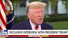 Trump Rails Against Obama During Rambling Hannity Chat: 'They Could've Impeached Him'