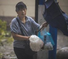Typhoon sweeps into eastern China after flooding chaos