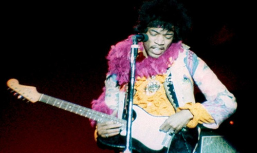 Jimi Hendrix in 'Monterey Pop'