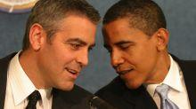 Clooney hospeda a los Obama en sus vacaciones europeas