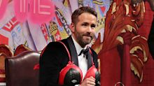Behold, Ryan Reynolds in a Deadpool bra