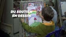 Ces enfants russes dessinent contre le coronavirus