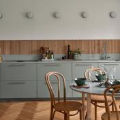 打造療癒清新的雅緻住宅,就以灰綠色勾勒內斂魅力