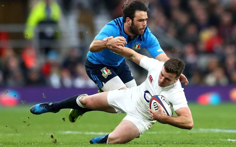 Ireland must target England's playmaker, Geore Ford - 2017 Getty Images
